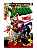 X-Men Annual 3 Cover: Cyclops  Arkon and X-Men