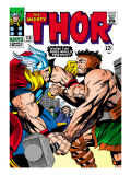 Marvel Comics Retro: The Mighty Thor Comic Book Cover 126  Hercules