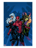 Marvel Knights Spider-Man 11 Cover: Green Goblin  Spider-Man and Black Cat