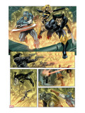 Wolverine Captain America 4 Group: Wolverine  Captain America and Warbird