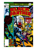 Black Panther 3 Cover: Black Panther  Princess Zanda  Hatch-22  Little and Abner Charging