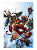 Marvel Adventures The Avengers 38 Cover: Iron Man