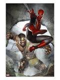 Assault on New Olympus Prologue 1 Cover: Spider-Man and Hercules