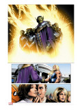 Ultimate Fantastic Four 28 Group: Super Skrull and Skrulls