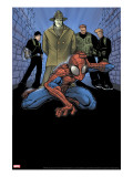 Marvel Age Spider-Man 9 Cover: Spider-Man  Big Man  The Ox and Enforcers