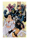 Secret Invasion: X-Men 1 Cover: X-23 and Emma Frost