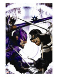 Dark Reign: Hawkeye 2 Cover: Hawkeye and Bullseye