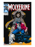 Wolverine 6 Cover: Wolverine  Roughouse and Bloodsport