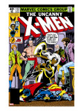 Uncanny X-Men 132 Cover: Shaw  Sebastian  Wyngarde  Jason  Storm and Hellfire Club