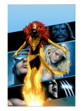 X-Men: Phoenix - Endsong No2 Cover: Phoenix  Beast  Emma Frost  Cyclops and Wolverine