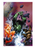 War of Kings: Savage World of Skaar 1 Cover: Skaar  Starbolt and Gorgon