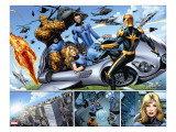 Nova 21 Group: Nova  Mr Fantastic  Invisible Woman  Thing and Human Torch