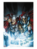 Secret Invasion: Thor 3 Cover: Thor and Beta-Ray Bill