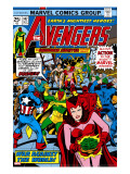 Avengers 147 Cover: Scarlet Witch