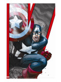 Avengers: Earths Mightiest Heroes 2 Cover: Captain America