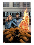 Marvel Knights 4 11 Cover: Mr Fantastic  Invisible Woman  Human Torch  Thing and Fantastic Four