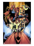 Marvel Team-Up 12 Group: Titannus  She-Hulk  Spider-Man  Dr Strange  Warbird  Nova and Wolverine