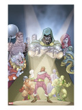 Doctor Doom And The Masters Of Evil 2 Cover: Dr Doom  Princess Python  Clown and Baron Zemo