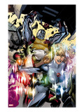 Secret Invasion: X-Men 3 Cover: Colossus and Dazzler