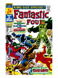 Fantastic Four Annual 5 Cover: Black Bolt