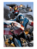 Ultimate Power 6 Group: Captain America  Wasp  Iron Man  Thing  Quicksilver and Shadowcat