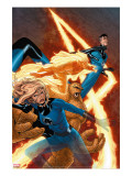 Marvel Knights 4 9 Cover: Mr Fantastic  Invisible Woman  Human Torch  Thing and Fantastic Four
