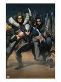 Cable 7 Group: Wolverine  X-23  Warpath and Wolfsbane