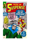 Tales of Suspense 48 Cover: Iron Man and Mister Doll