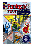 The Fantastic Four 17 Cover: Mr Fantastic