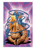 Marvel Age Fantastic Four 3 Cover: Thing