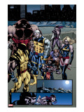 Weapon X: Days Of Future Now 4 Group: Wolverine  Juggernaut  Cable  Lady Deathstrike and Warbird