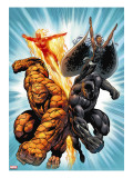 Black Panther 1 Group: Black Panther  Thing  Storm and Human Torch