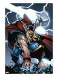 Avengers: The Initiative 21 Cover: Thor