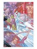X-Men: First Class Finals 4 Cover: Iceman