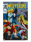 Wolverine 4 Cover: Wolverine  Roughouse  Bloodsport and Karma