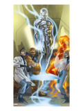 Ultimate Fantastic Four 43 Cover: Mr Fantastic
