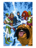 Uncanny X-Men: First Class 1 Group: Black Bolt  Medusa  Lockjaw  Karnak  Gorgon and Triton