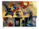 New Avengers 56 Group: Spider-Man  Iron Patriot  Wolverine  Ms Marvel  Ares and Hawkeye