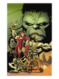 World War Hulk: Aftersmash 1 Cover: Hulk  Iron Man and Hercules