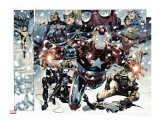 Free Comic Book Day 2009 Avengers 1 Group: Iron Patriot
