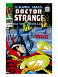 Strange Tales 168 Cover: Dr Strange and Yandroth