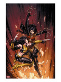 New X-Men 45 Cover: X-23 and Lady Deathstrike