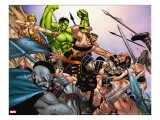 Hulk Vs Hercules: When Titans Collide 1 Group: Hulk  Thor and Dr Strange
