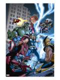 Marvel Adventures The Avengers No31 Cover: Thor