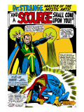 Strange Tales 161 Cover: Dr Strange and Baron Mordo