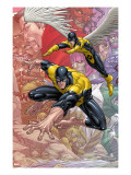 X-Men: First Class Finals 1 Cover: Beast and Angel
