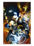 War of Kings 3 Cover: Havok  Black Bolt and Vulcan
