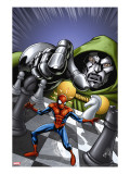 Marvel Adventures Spider-Man 9 Cover: Spider-Man and Dr Doom