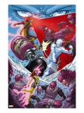 X-Men: First Class 7 Group: Sentinel  Iceman  Cyclops and Marvel Girl