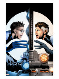 Ultimate Fantastic Four 21 Cover: Mr Fantastic Charging